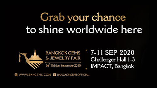 66th Bangkok Gems & Jewelry Fair 2020